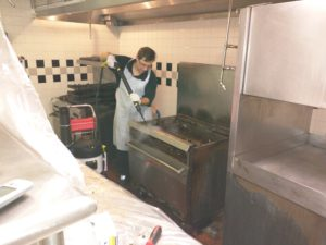 Commercial Kitchen deep cleaning nc
