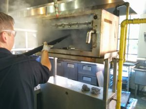 grill steam cleaning nc